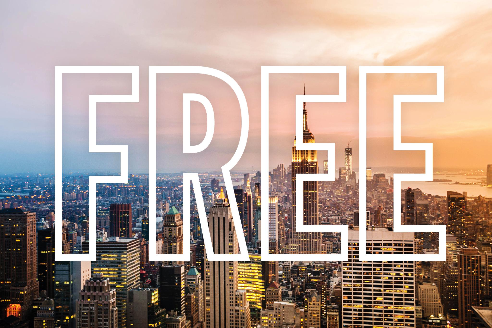ניו יורק בחינם